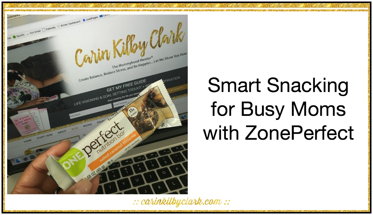 Smart Snacking for Busy Moms with ZonePerfect via @carinkilbyclark