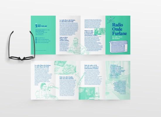 Radio Onde Furlane, campagna di comunicazione, illustrazioni e progetto grafico di Carin Marzaro