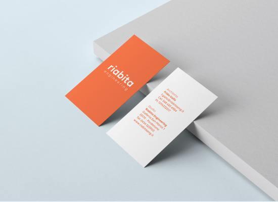 Riabita, identità visiva, logo design di Carin Marzaro