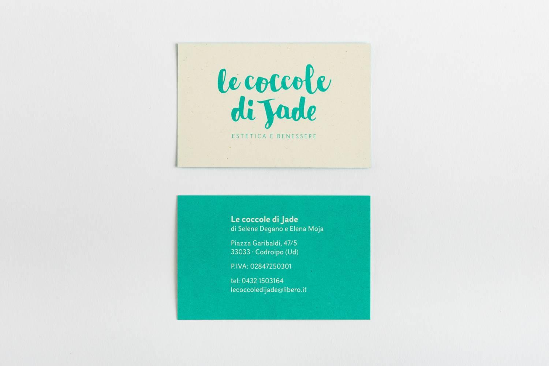 Le coccole di Jade visual identity di Carin Marzaro