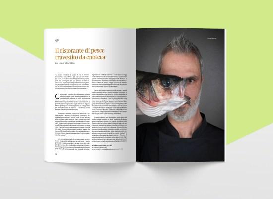 Mangiavino magazine AIS FVG, progetto grafico di Carin Marzaro