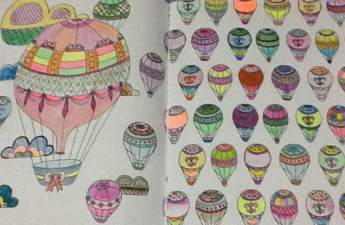 Jardim de recordações livro de colorir