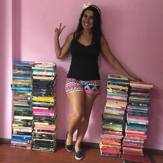 diario da obra II arrumando os livros