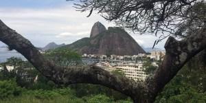Vistas do Rio dali e daqui