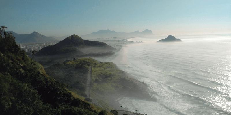 Montanha e mar