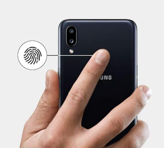 fingerprint samsung galaxy a10s