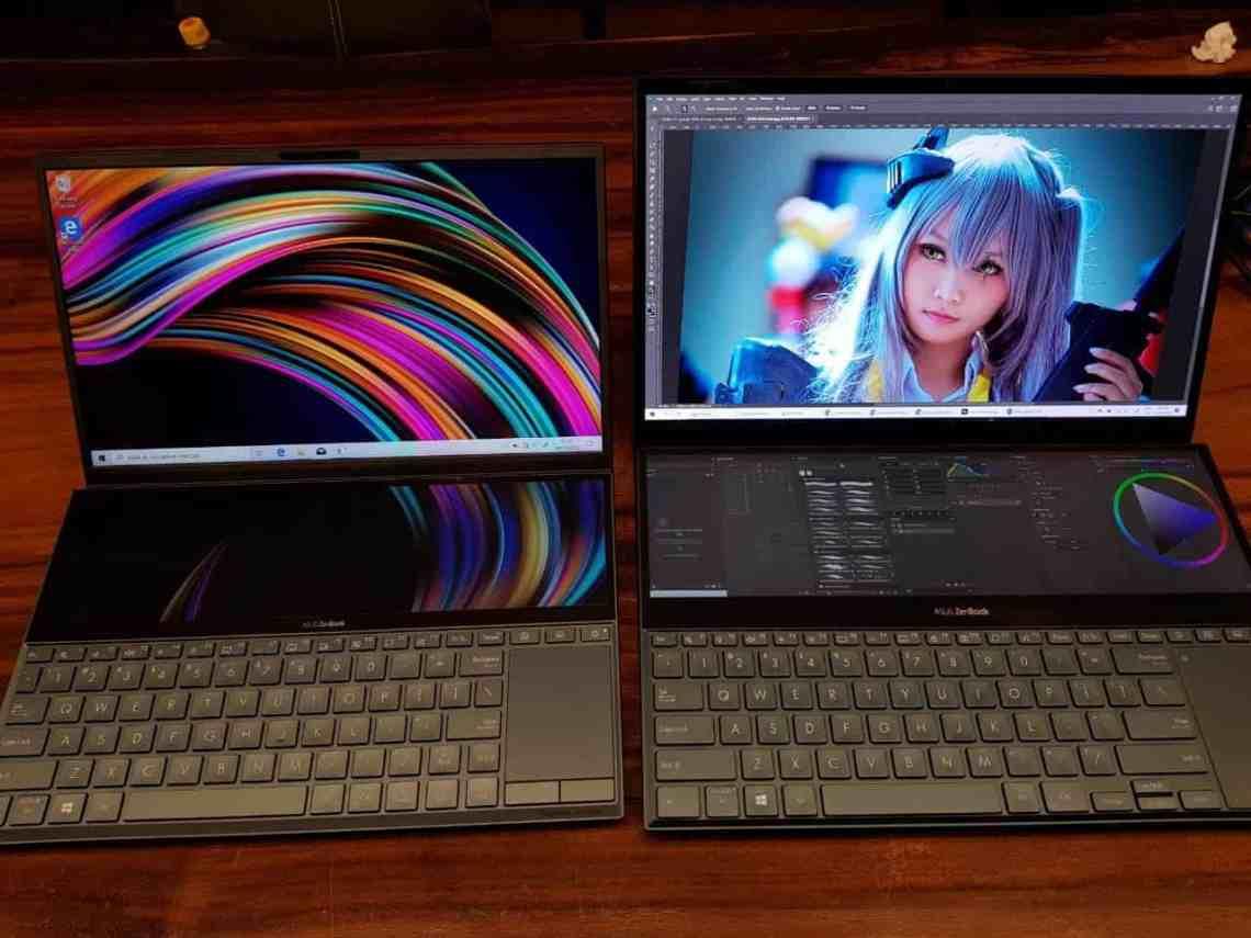 zenbook duo & zenbook pro duo