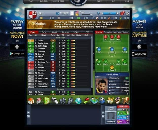 Total Football Manager