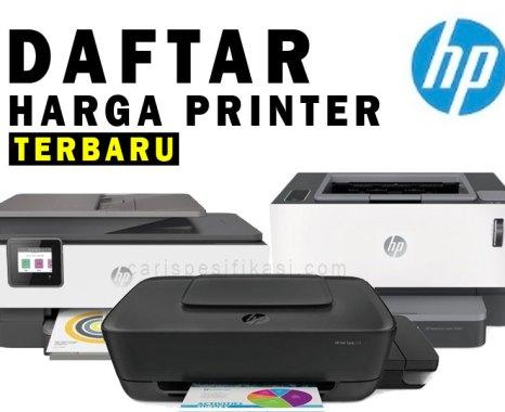 Daftar Info Harga Printer Hp Terbaru Lengkap 2020 Update Carispesifikasi Com
