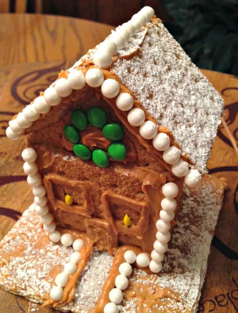 family holiday ideas graham cracker houses and peanut butter