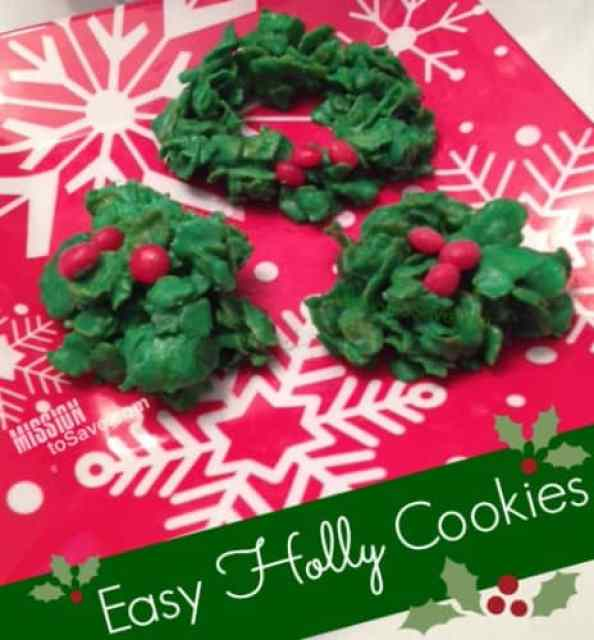 http://missiontosave.com/easy-cereal-holly-cookies/