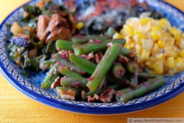 http://www.farmfreshfeasts.com/2014/09/cranberry-pecan-green-beans.html