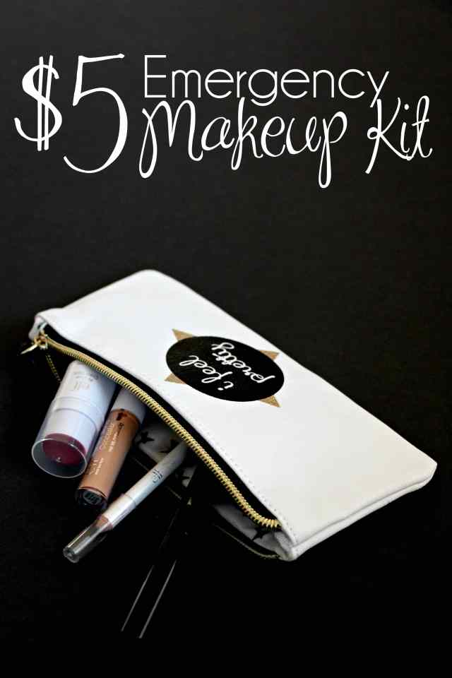 Five Dollar Emergency Makeup Kit