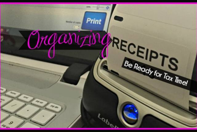 Organizing Receipts for Tax Time 16