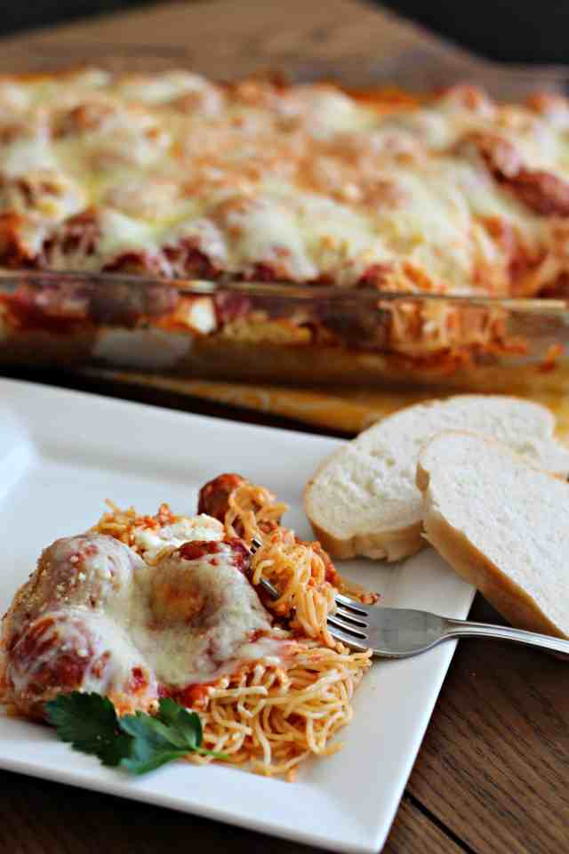 Million Dollar Spaghetti and Meatballs 10