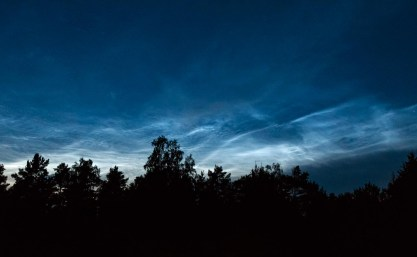 Nattlysande moln / Noctilucent clouds