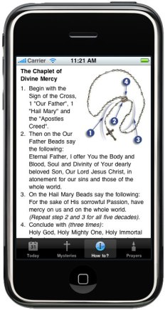 ProLife Rosary iPhone App-MercyChaplet