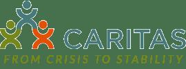 CARITAS logo and slogan