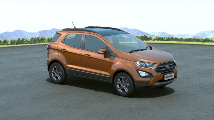 Ford EcoSport Sunroof Cars in india