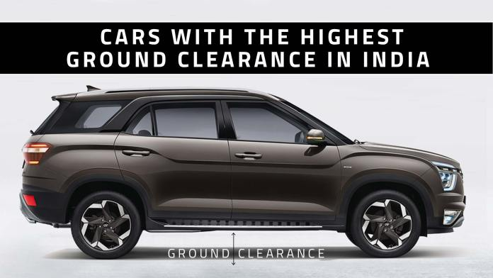 Cars with higest ground clearance