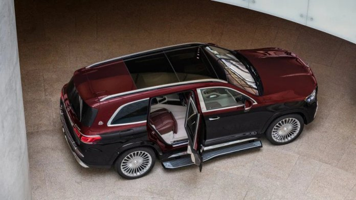 Mercedes-Benz Maybach GLS 600 engine specifications