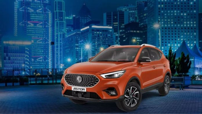 MG Astor launch on october 11 in india