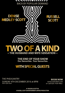 TWO OF A KIND – THE PHEASANTRY