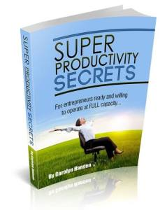 Secret Productivity Secrets