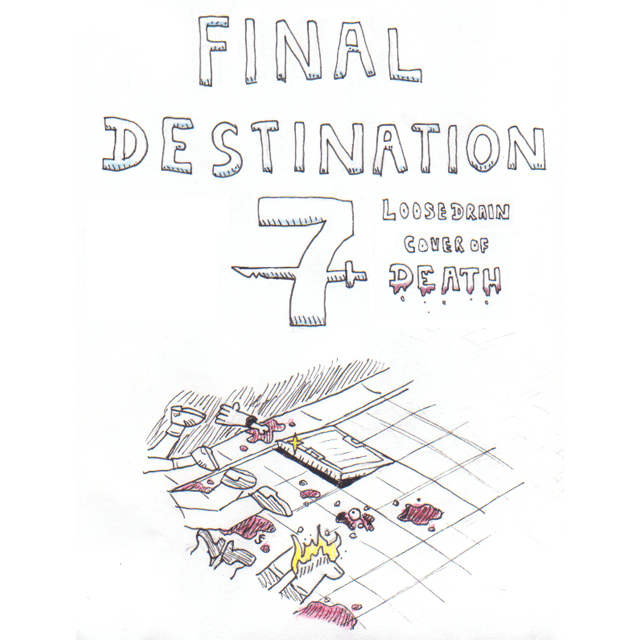 Inktober Day 18 - Final Destination