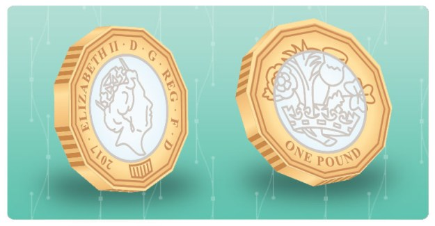 2017 New Pound Coin vector - final