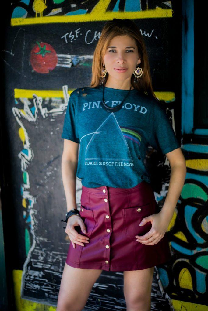 camiseta de rock