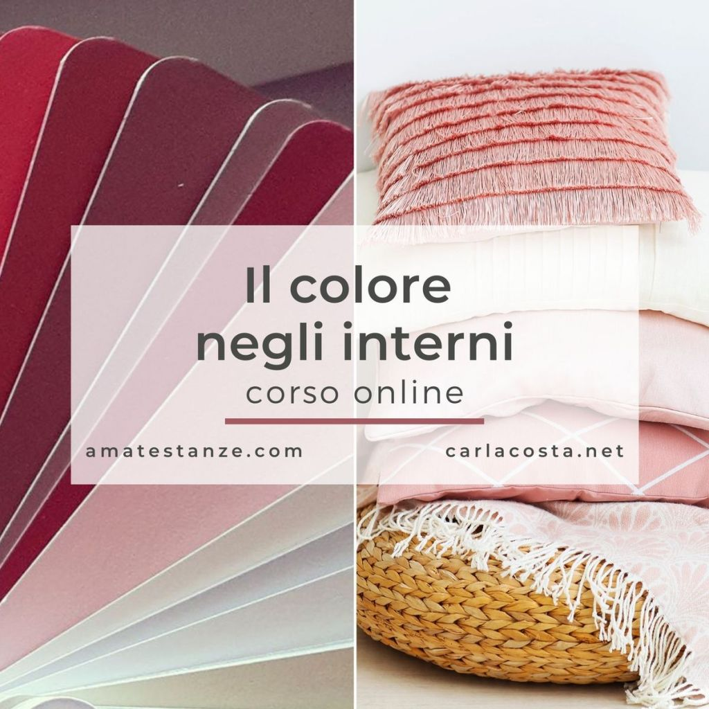corso online il colore negli interni