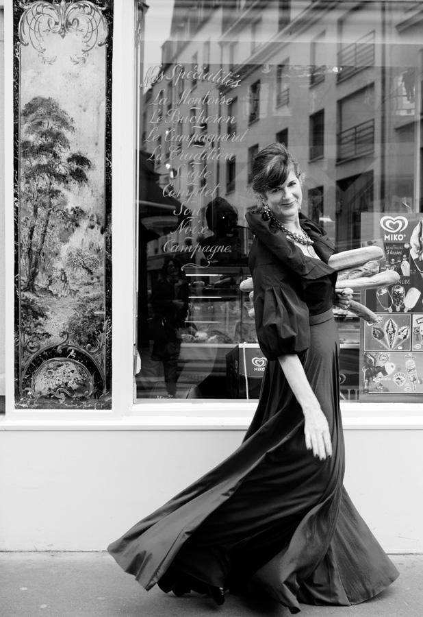 Carla Coulson la contessa portrait shoot paris