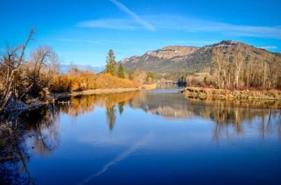 Winter Solstice, Shuswap River, Enderby, BC