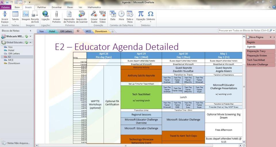 E2 Agenda