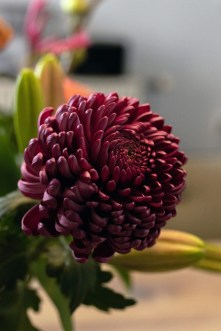 eetkamer bloem