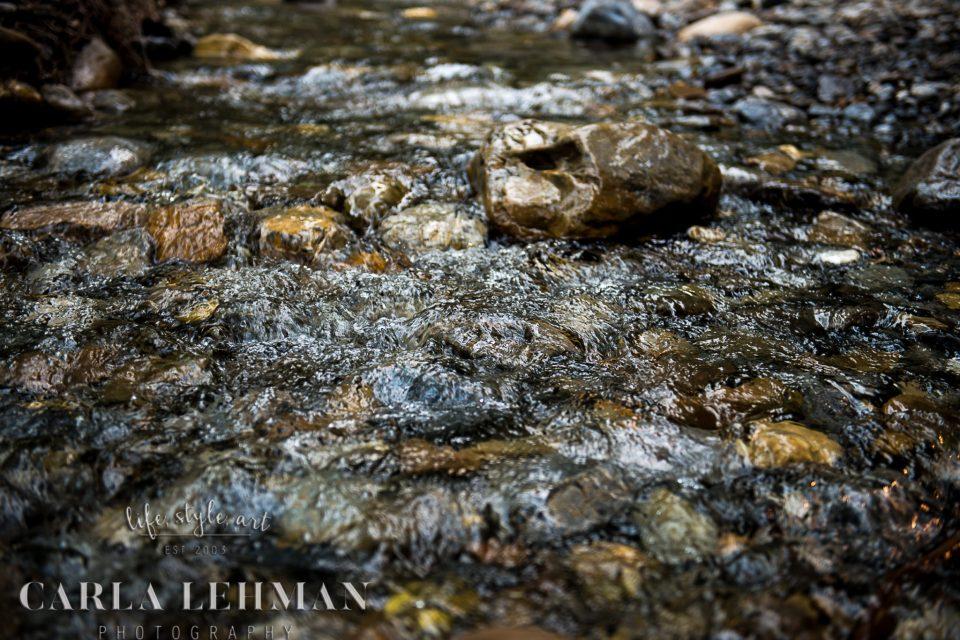 Jasper mountain stream.  Alberta Photographer
