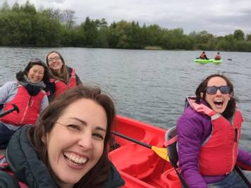 Finding Home - kayaking in the Cotswolds | carlalouise.com
