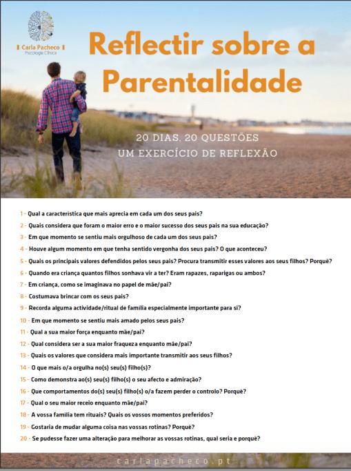 Um exercício de reflexão sobre a parentalidade