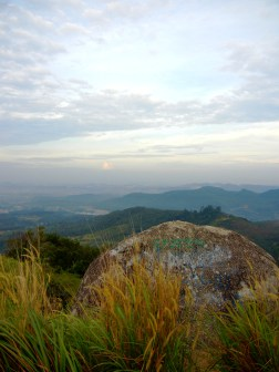 One of giant rocks at Broga