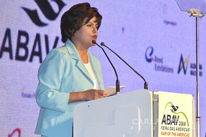 Dilma Roussef, ministra da Casa Civil