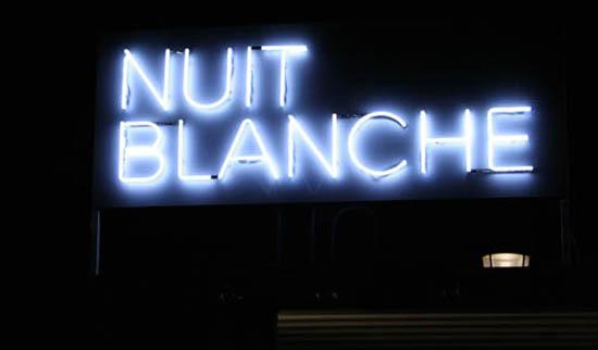 Nuit blanche à Paris