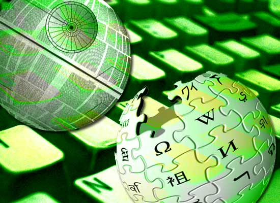 Wikipédia vs Death Star