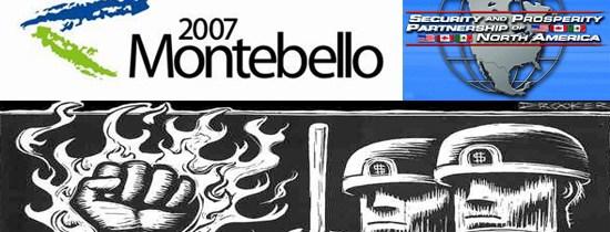 Montebello: Le sommet d'une sombre manipulation policière