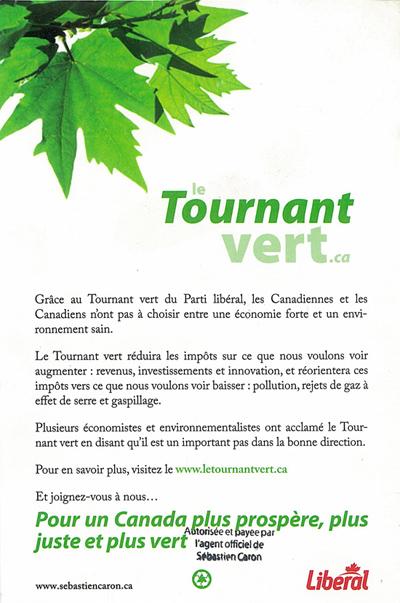 Le Tournant Vert... déjà de l'anthologie!