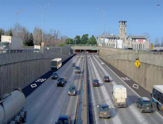 autoroute Notre-Dame