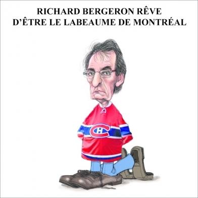 Richard Bergeron rêve d'être le Labeaume de Montréal