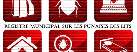 Motion pour la création d'un registre confidentiel sur les infestations de punaises des lits