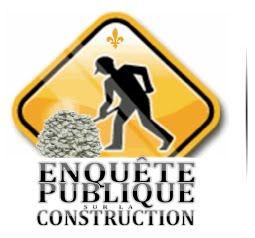 Pétition exigeant du gouvernement libéral une commission d'enquête publique sur l'industrie de la construction : plus de 18 000 signatures en 18 jours!
