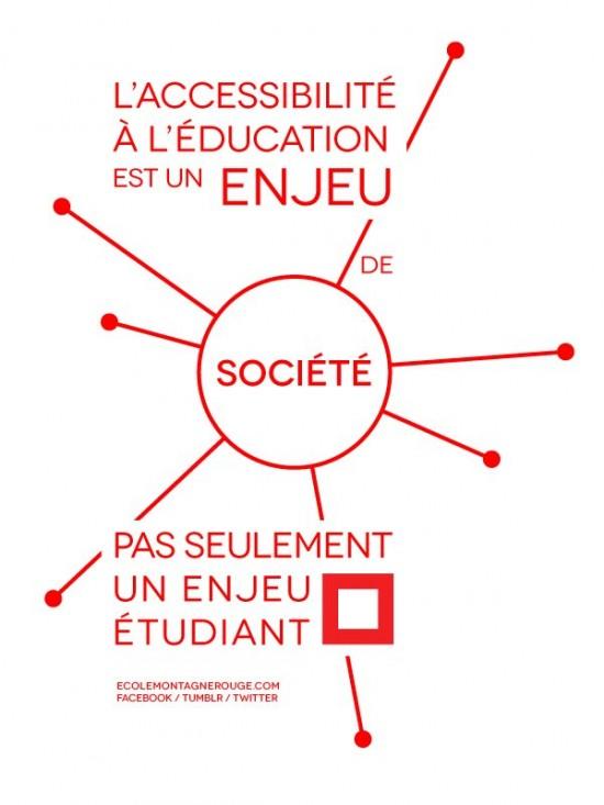 L'accessibilité à l'éducation est un enjeu de société